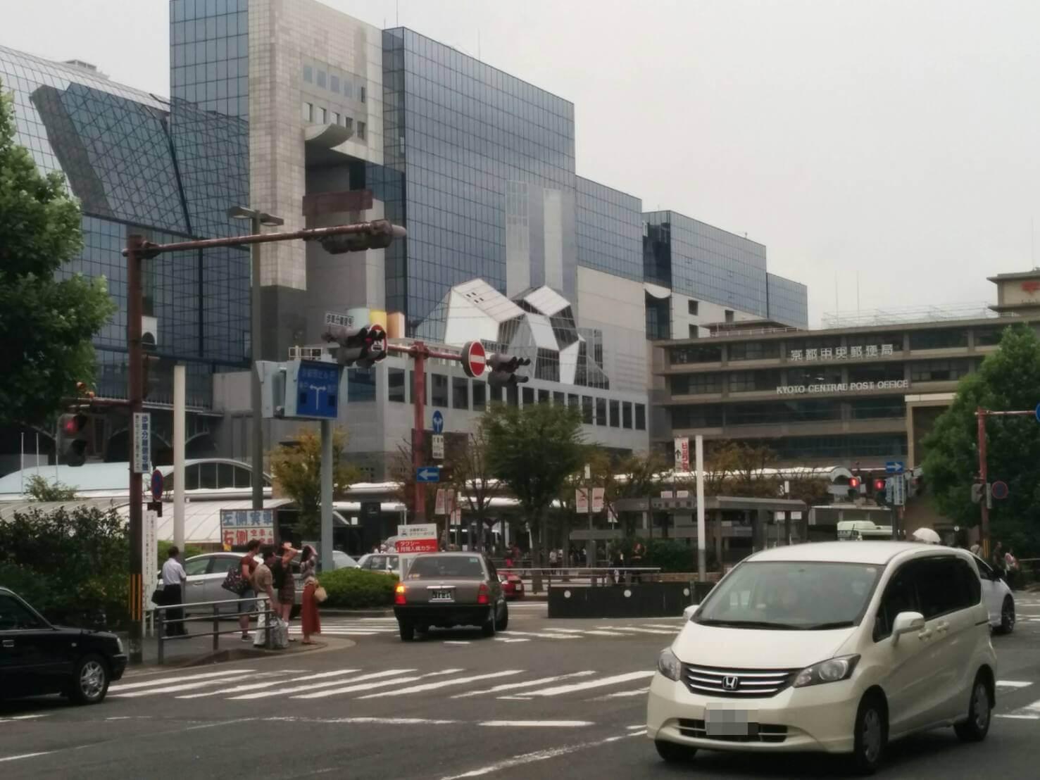 京都市内の尾行